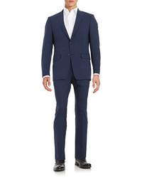 Michael Kors Michl Kors 2 Piece Flat Front Suit
