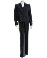 Michael Kors Michl Kors Silk Narrow Notch Pansuit