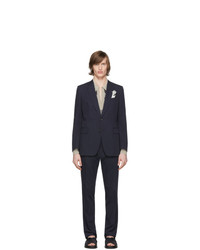 Dries Van Noten Navy Kline Suit