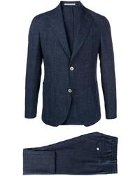 Eleventy Single Breasted Tailored Blazer