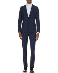 Paul Smith Soho Fit Single Breasted Wool And Mohair Blend Suit