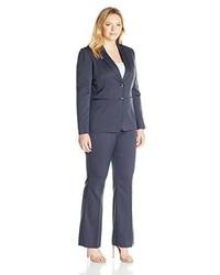 Tahari by Arthur S. Levine Tahari Asl Plus Size Novelty Pant Suit