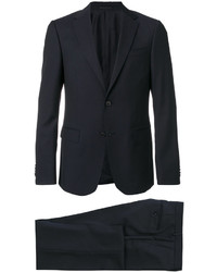 Z Zegna Textured Two Piece Suit