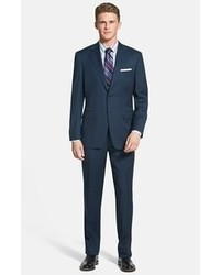Trim fit wool suit medium 60224