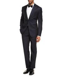 Isaia Two Piece Tuxedo Suit