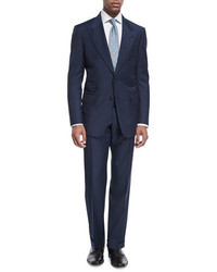 Tom Ford Windsor Base Micro Pinpoint Two Piece Suit