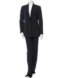 Giorgio Armani Wool Wide Leg Pantsuit W Tags