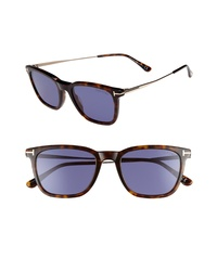 Tom Ford 53mm Rectangle Sunglasses