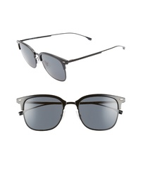 BOSS 53mm Special Fit Semi Rimless Sunglasses