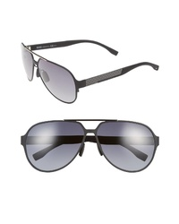 BOSS 63mm Aviator Sunglasses