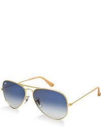 Ray-Ban Aviator Gradient Sunglasses Rb3025 58
