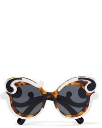 Prada Cat Eye Acetate Sunglasses Tortoiseshell