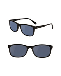 Vuarnet District Medium 55mm Polarized Sunglasses