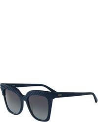 MCM Embossed Monochromatic Cat Eye Sunglasses