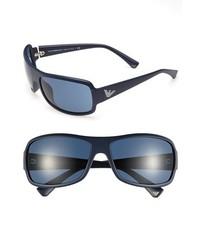 Emporio Armani 63mm Sunglasses Dark Blue One Size