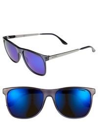 Eyewear 57mm retro sunglasses transparent blue medium 653583