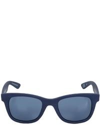 Italia Independent Wood Effect Acetate Sunglasses