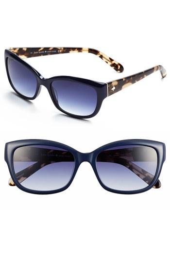 887976d2abad ... kate spade new york Kate Spade Johanna 53mm Retro Sunglasses Navy One  Size