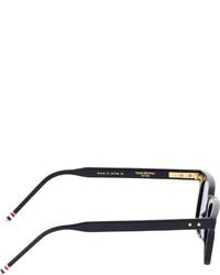 dccf0ab3f05c ... Thom Browne Navy Matte Tb 402 Sunglasses