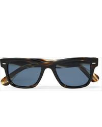 Oliver Peoples Oliver Sun Square Frame Tortoiseshell Acetate Sunglasses