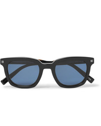 Ermenegildo Zegna Square Frame Acetate Polarised Sunglasses