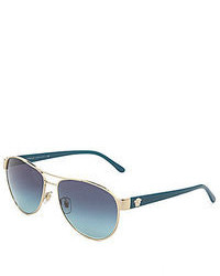 Versace Timeless Medusa Aviator Sunglasses