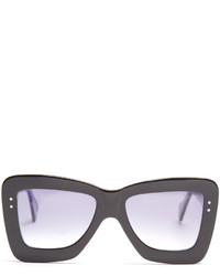 Roksanda X Cutler And Gross Square Frame Acetate Sunglasses