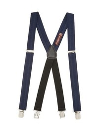 Alexander olch solid herringbone suspenders with clips medium 421211
