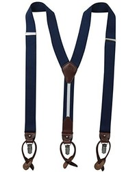 Tommy Hilfiger 32mm Suspender With Convertible Clip Button End And Strap