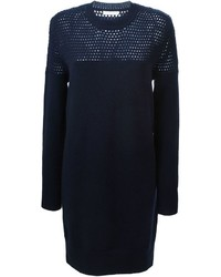 See by Chloe See By Chlo Open Knit Detail Sweater Dress