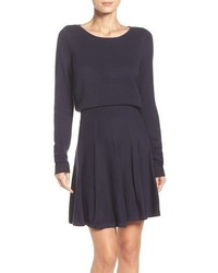 Sweater fit flare dress medium 963874