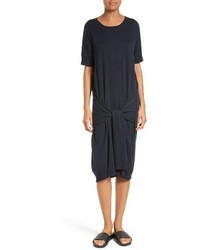 Vince Tie Front Sweater Dress
