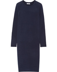 Equipment Willy Cashmere Sweater Dress Navy