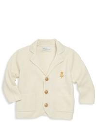 Ralph Lauren Babys Cotton Wool Sweater Jacket