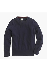 J.Crew Boys Cotton Cashmere Crewneck Sweater