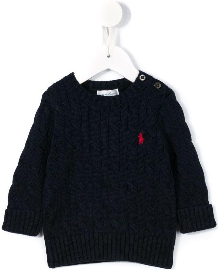 Ralph Lauren Kids Cable Knit Jumper
