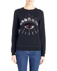 Kenzo Nagai Eye Embroidered Sweatshirt