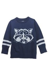 No Retreat Toddler Boys Sweater Navy