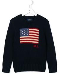 Ralph Lauren Kids American Flag Jumper