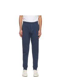 Tom Ford Blue Regular Fit Lounge Pants
