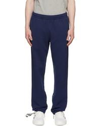 Off-White Blue Rubber Arrows Zip Lounge Pants