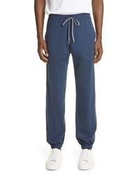 Canali Cotton Jersey Joggers