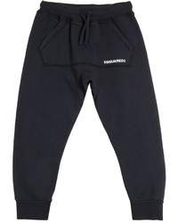 DSQUARED2 Logo Detail Cotton Jogging Pants