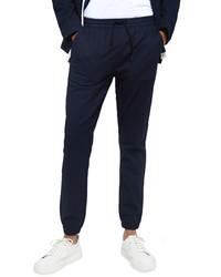 Topman Herringbone Skinny Fit Jogger Pants