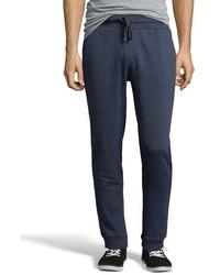 Jachs Manufacturing Co Black Cotton Blend Fleece Drawstring Waist Sweatpants