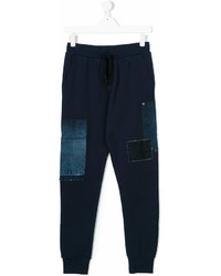 Diesel Kids Denim Patch Sweatpants