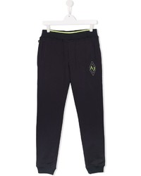 Armani Junior Logo Patch Track Pants