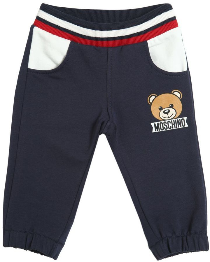 Moschino Teddy Bear Toy Cotton Jogging Pants