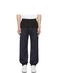Stella McCartney Navy And Black Cotton Track Pants