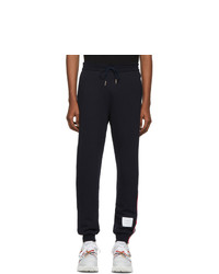 Thom Browne Navy Classic Rwb Stripe Lounge Pants